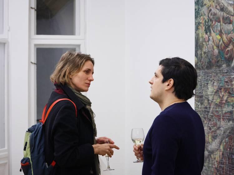 Marin Majic, ICH UND ICH, Arndt Art Agency, Berlin, Opening Reception 7