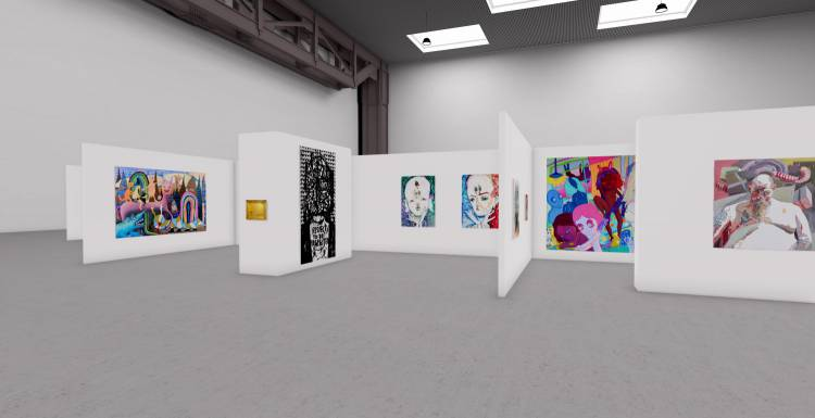 My Name is Nobody, A3 online exhibition, Installation view 1