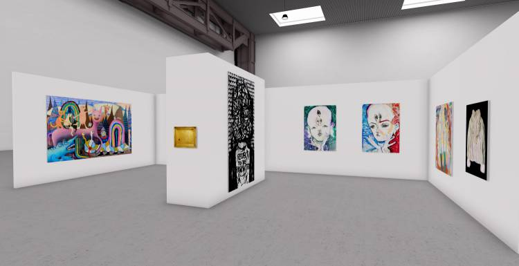My Name is Nobody, A3 online exhibition, Installation view 2