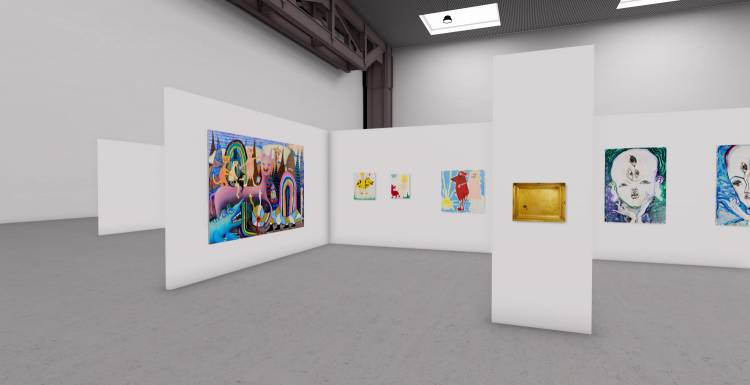 My Name is Nobody, A3 online exhibition, Installation view 3