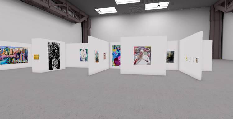 My Name is Nobody, A3 online exhibition, Installation view 4