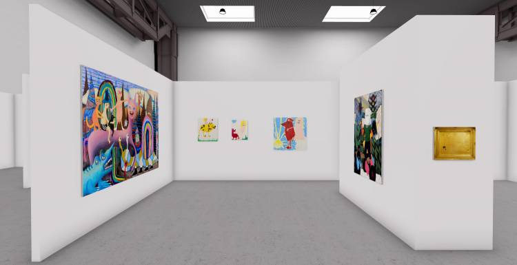 My Name is Nobody, A3 online exhibition, Installation view 5