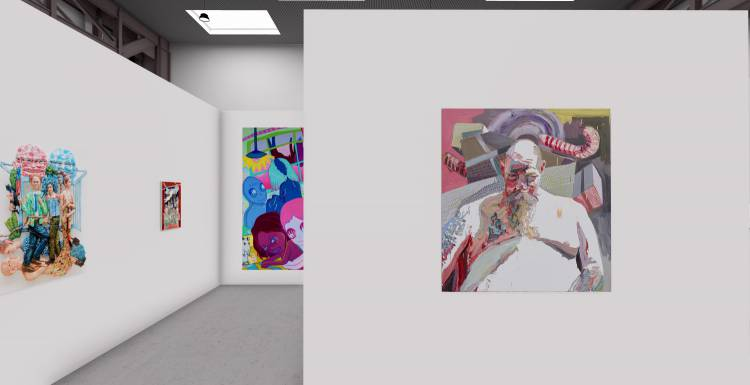 My Name is Nobody, A3 online exhibition, Installation view 9