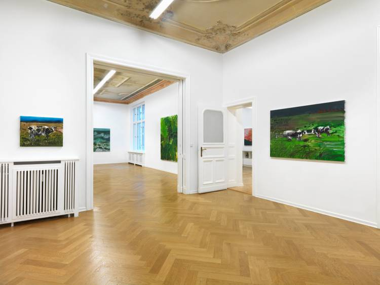 Rainer Fetting, Taxis Monsters and the Good Old Sea, Arndt Art Agency, Berlin, Installation view 3