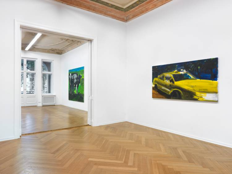 Rainer Fetting, Taxis Monsters and the Good Old Sea, Arndt Art Agency, Berlin, Installation view 5