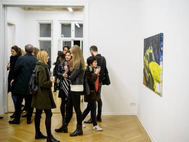 Rainer Fetting, Taxis Monsters and the Good Old Sea, Arndt Art Agency, Berlin, Opening Reception 14