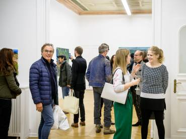 Rainer Fetting, Taxis Monsters and the Good Old Sea, Arndt Art Agency, Berlin, Opening Reception 15