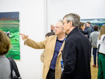 Rainer Fetting, Taxis Monsters and the Good Old Sea, Arndt Art Agency, Berlin, Opening Reception 16