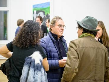Rainer Fetting, Taxis Monsters and the Good Old Sea, Arndt Art Agency, Berlin, Opening Reception 19
