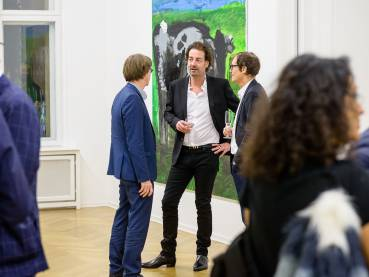Rainer Fetting, Taxis Monsters and the Good Old Sea, Arndt Art Agency, Berlin, Opening Reception 20