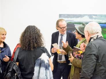 Rainer Fetting, Taxis Monsters and the Good Old Sea, Arndt Art Agency, Berlin, Opening Reception 22