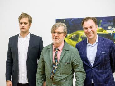 Rainer Fetting, Taxis Monsters and the Good Old Sea, Arndt Art Agency, Berlin, Opening Reception 5