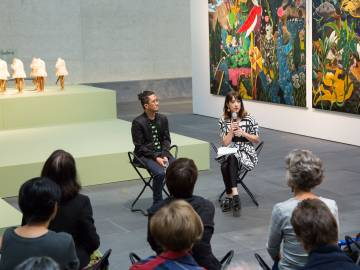 Rodel Tapaya, New Art from the Philippines, the National Gallery of Australia, Canberra, Artist Talk 1