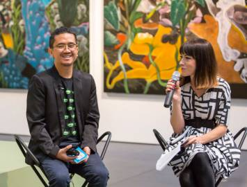 Rodel Tapaya, New Art from the Philippines, the National Gallery of Australia, Canberra, Artist Talk 2