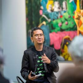 Rodel Tapaya, New Art from the Philippines, the National Gallery of Australia, Canberra, Artist Talk 3