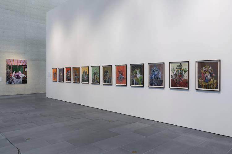 Rodel Tapaya, New Art from the Philippines, the National Gallery of Australia, Canberra, Installation view 5