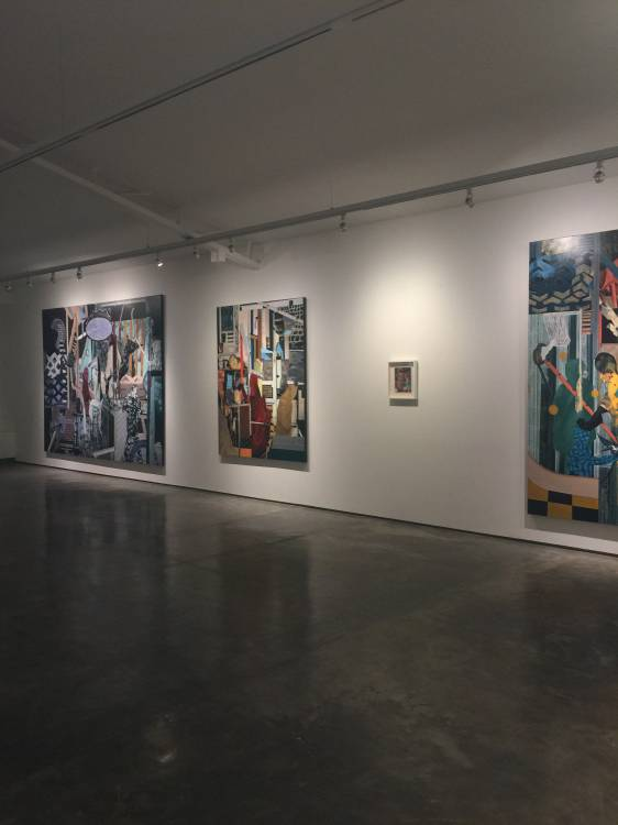 Rodel Tapaya, On the Benefits of a Crowded Space, Art Informal, Manila, Installation view 3.JPG