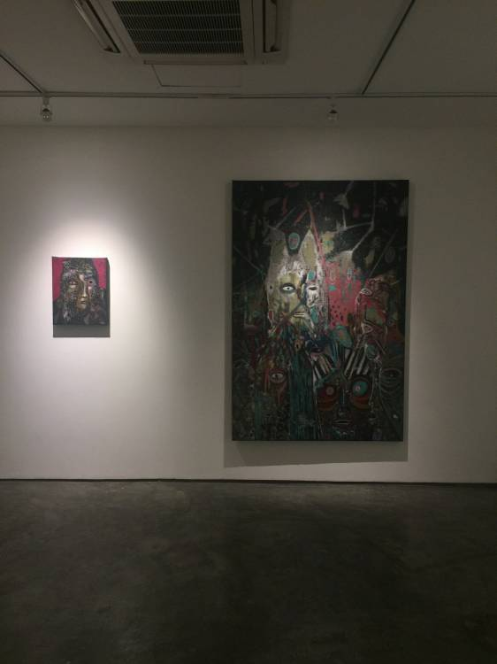 Rodel Tapaya, On the Benefits of a Crowded Space, Art Informal, Manila, Installation view 5.JPG