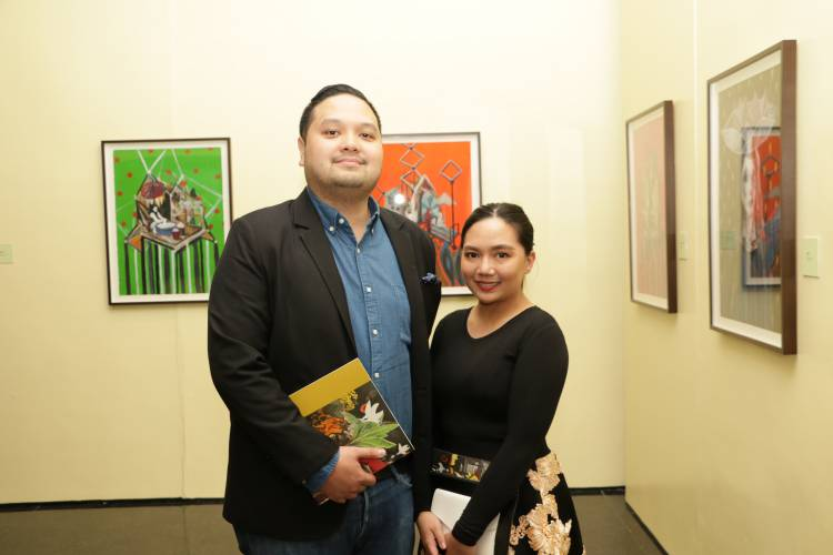 Rodel Tapaya, Urban Labyrinth, Ayala Museum, Opening Reception 26.JPG