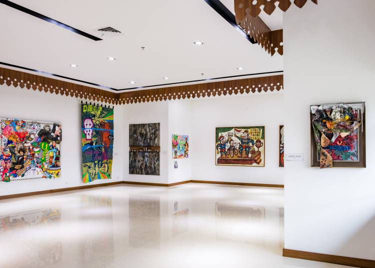 Shifting Tides, ASEAN Gallery, Jakarta, Installation view 3