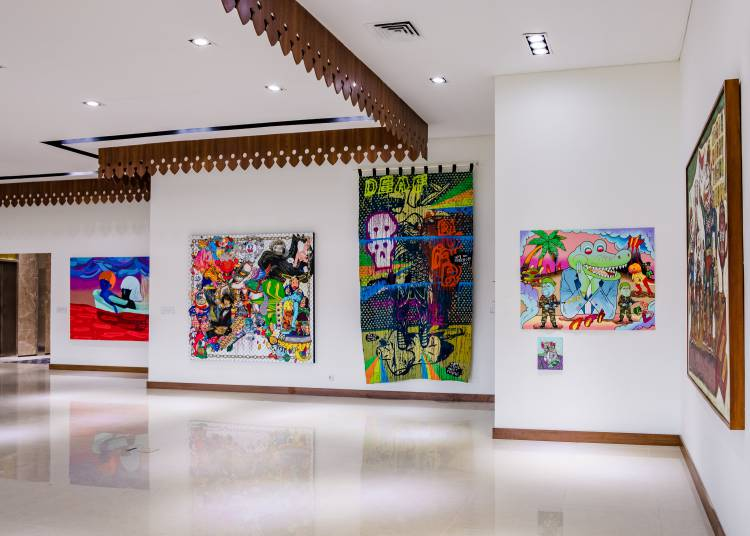Shifting Tides, ASEAN Gallery, Jakarta, Installation view 4