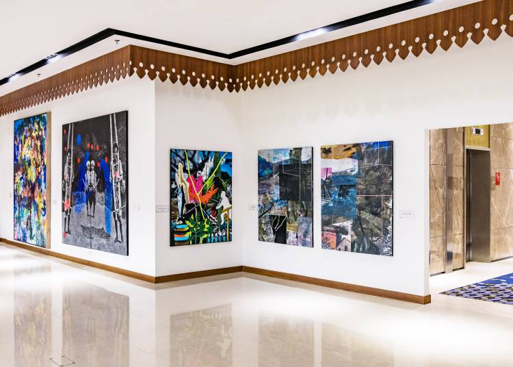 Shifting Tides, ASEAN Gallery, Jakarta, Installation view 6