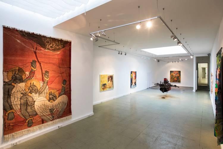 Terra Incognita, Hilger Brotkunsthalle, Vienna, Arndt Art Agency, Installation view 10