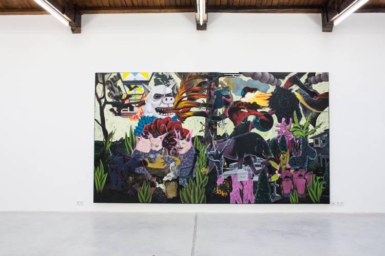 Terra Incognita, Hilger Brotkunsthalle, Vienna, Arndt Art Agency, Installation view 4