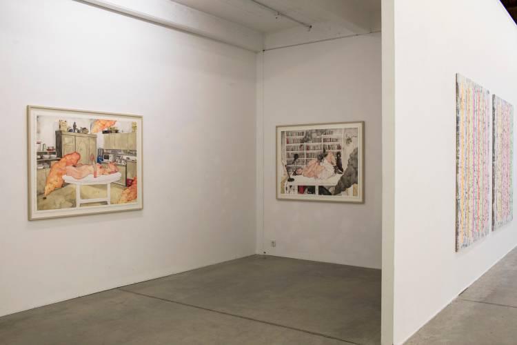 Terra Incognita, Hilger Brotkunsthalle, Vienna, Arndt Art Agency, Installation view 6