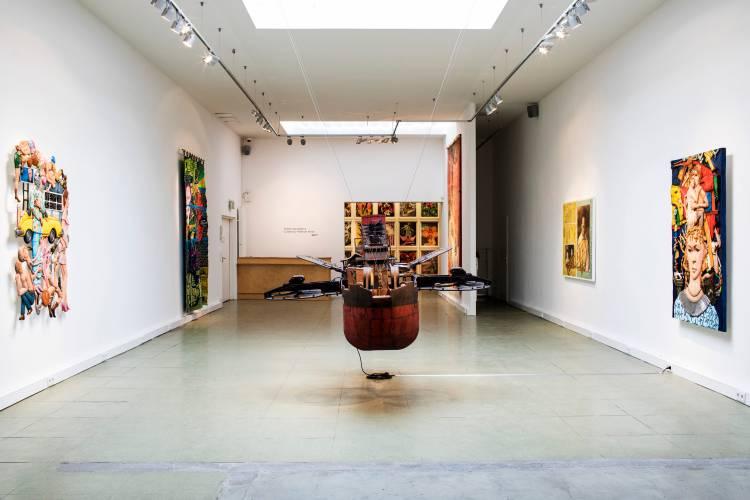 Terra Incognita, Hilger Brotkunsthalle, Vienna, Arndt Art Agency, Installation view 7