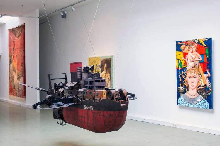 Terra Incognita, Hilger Brotkunsthalle, Vienna, Arndt Art Agency, Installation view 8