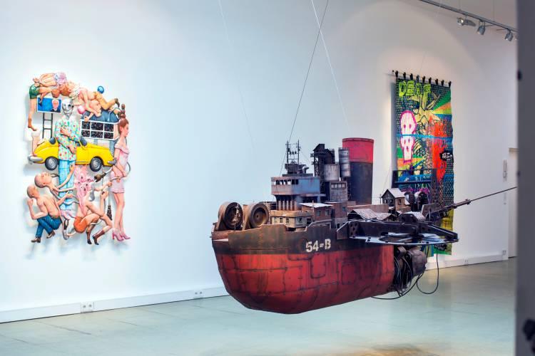 Terra Incognita, Hilger Brotkunsthalle, Vienna, Arndt Art Agency, Installation view 9