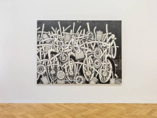 Timothy Curtis, Temporary Decisions Inkblots and Bikes, Arndt Art Agency Berlin, Installation view 8