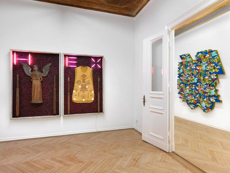 Wasak, Filipino Art Today, Arndt Art Agency, Berlin, Installation view 6