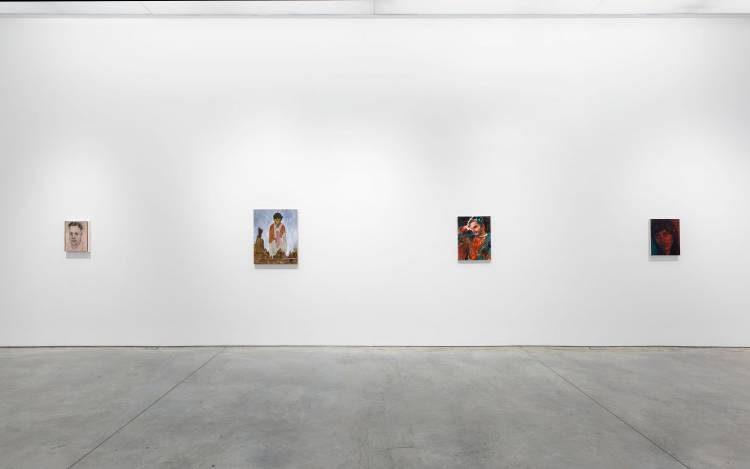 Xenia Crossroads in Portrait Painting, Marianne Boesky Gallery, New York, Installation view 12