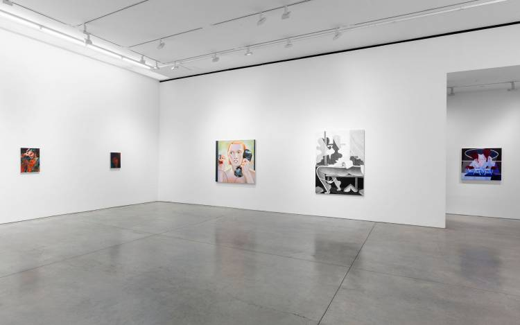 Xenia Crossroads in Portrait Painting, Marianne Boesky Gallery, New York, Installation view 13
