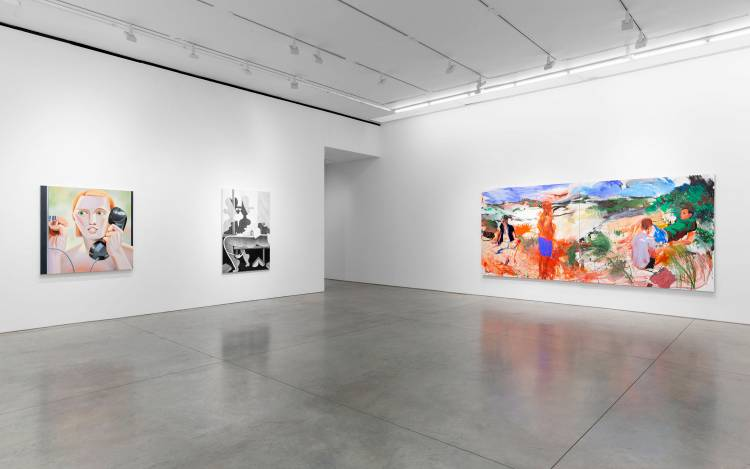 Xenia Crossroads in Portrait Painting, Marianne Boesky Gallery, New York, Installation view 14