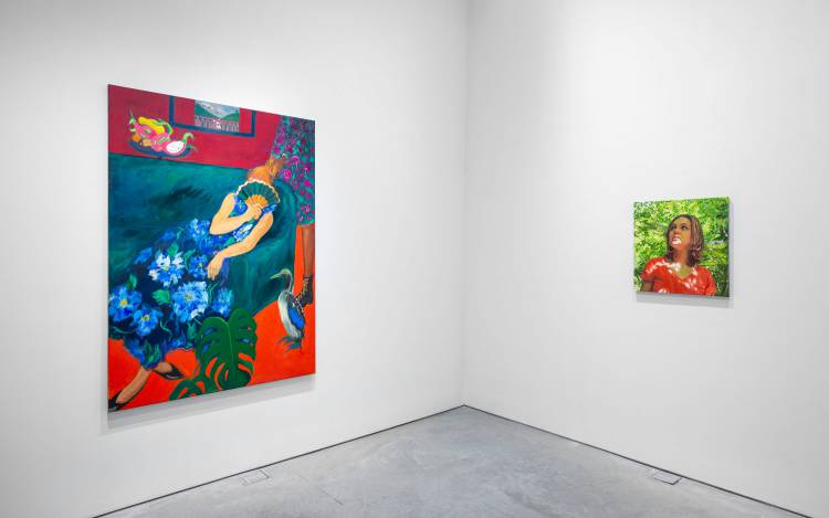 Xenia Crossroads in Portrait Painting, Marianne Boesky Gallery, New York, Installation view 15
