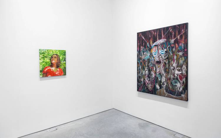 Xenia Crossroads in Portrait Painting, Marianne Boesky Gallery, New York, Installation view 16