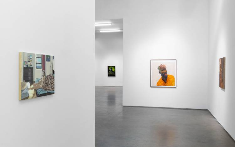 Xenia Crossroads in Portrait Painting, Marianne Boesky Gallery, New York, Installation view 3