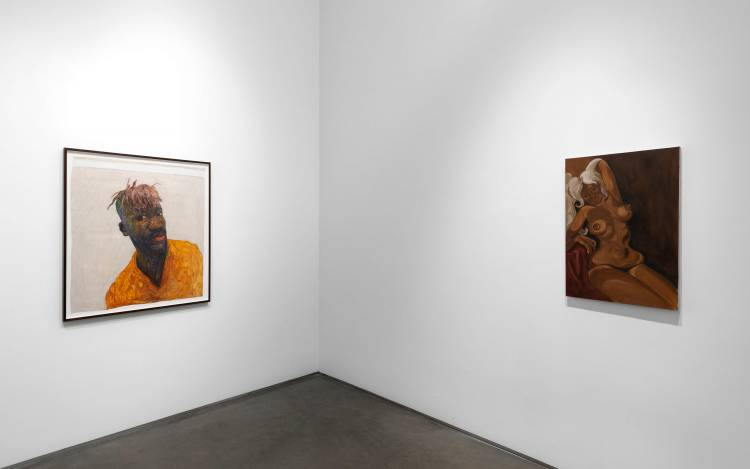 Xenia Crossroads in Portrait Painting, Marianne Boesky Gallery, New York, Installation view 4