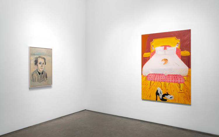Xenia Crossroads in Portrait Painting, Marianne Boesky Gallery, New York, Installation view 5