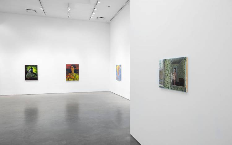 Xenia Crossroads in Portrait Painting, Marianne Boesky Gallery, New York, Installation view 6