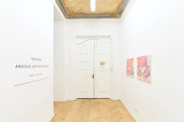 Yeo Kaa, Anxious Lustless Pechay, Arndt Art Agency, Berlin, Installation view 2