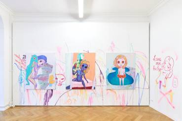 Yeo Kaa, Anxious Lustless Pechay, Arndt Art Agency, Berlin, Installation view 3