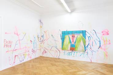 Yeo Kaa, Anxious Lustless Pechay, Arndt Art Agency, Berlin, Installation view 4