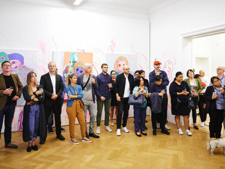 Yeo Kaa, Anxious Lustless Pechay, Arndt Art Agency, Berlin, Opening Reception 5